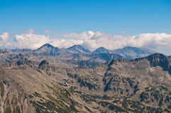 Pirin Mountain Peaks Royalty Free Stock Photography