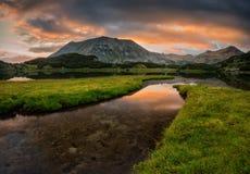 Pirin mountains Royalty Free Stock Photo