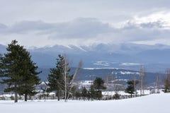 Pirin mountains royalty free stock image