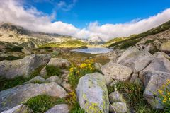 Pirin mountains in summer Stock Photography