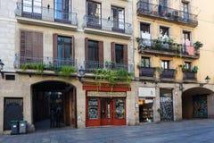 Pirineu en Boca出生的餐馆在巴塞罗那 免版税库存图片
