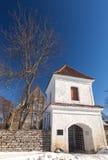 Pirita女修道院入口 免版税库存照片
