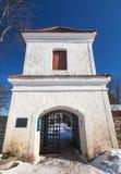 Pirita Convent entrance tower Royalty Free Stock Image