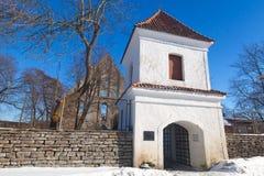 Pirita Convent entrance tower Stock Images