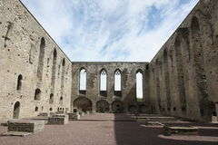 Pirita klasztor Rujnuje Tallinn Estonia Obraz Royalty Free
