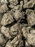 A pirite mineral, ou pirite de ferro, igualmente conhecida como o ouro dos tolos imagem de stock royalty free