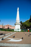 Pirâmide Buenos Aires de Mayo Imagem de Stock Royalty Free