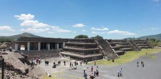 Pirmide de la Luna in Teotihuacan. Mexico city Stock Photo