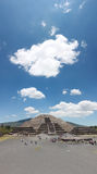 Pirmide de la Luna in Teotihuacan Stock Photography
