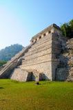 Pirámide de Palenque, México Foto de archivo libre de regalías