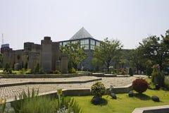 Pirámide del parque de Tennoji Fotografía de archivo