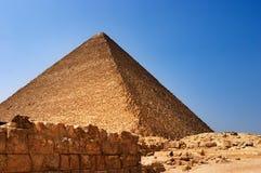 Pirámide egipcia Fotografía de archivo