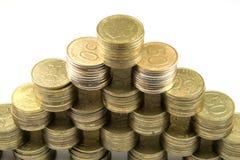 Pirámide financiera Fotos de archivo