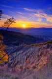 Pirâmides de Stob em montanhas de Rila, Bulgária Imagem de Stock