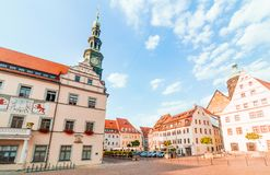 Pirna, susnet de Alemania foto de archivo libre de regalías