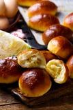 Pirogi fait maison Pâtisseries russes traditionnelles photos libres de droits