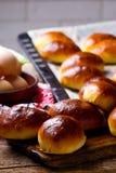 Pirogi fait maison Pâtisseries russes traditionnelles photographie stock libre de droits
