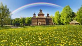 Pirogiv在一个春日 库存照片