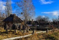 Pirogovo博物馆otkrytymm空气在基辅 乌克兰 库存图片
