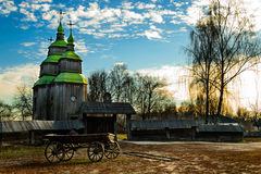 Pirogovo博物馆otkrytymm空气在基辅 乌克兰 免版税库存图片