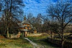 Pirogovo博物馆otkrytymm空气在基辅 乌克兰 图库摄影