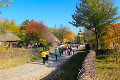 Pirogovo in autumn Royalty Free Stock Photography