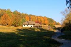 Pirogovo in autumn Stock Photo