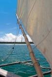Pirogue em Nova Caledônia Foto de Stock