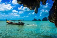 Pirogue em phing do khao kan Imagem de Stock