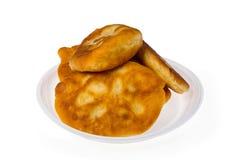 Pirojki Tortino russo delizioso tradizionale Immagini Stock