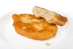 Pirojki. Traditional delicious Russian patty Stock Photos