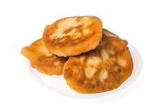 Pirojki. Traditional delicious Russian patty Stock Image