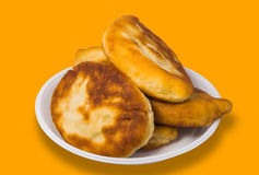Pirojki. Traditional delicious Russian patty Royalty Free Stock Photography