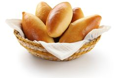 Piroshki, pirozhki Royalty Free Stock Photo