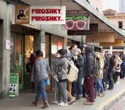 Piroshky Piroshky Stockbild