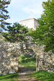 Pirot fortecy wejście Obrazy Royalty Free