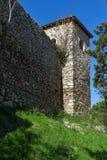 PIROT, SÉRVIA -16 ABRIL DE 2016: Vista surpreendente da fortaleza de Pirot, Sérvia Imagem de Stock Royalty Free