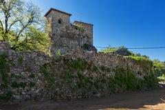 PIROT, SERBIA -16 APRILE 2016: Vista stupefacente della fortezza di Pirot, Serbia Immagini Stock