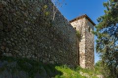 PIROT, SERBIA -16 APRILE 2016: Vista stupefacente della fortezza di Pirot, Serbia Fotografia Stock