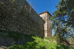 PIROT, SERBIA -16 APRILE 2016: Vista stupefacente della fortezza di Pirot, Serbia Fotografie Stock