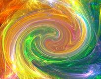 Pirouette colorée Photo libre de droits