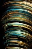 Pirouette colorée abstraite Photos libres de droits
