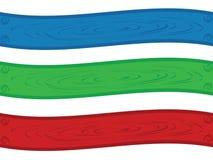 Pirouette de drapeau Photos libres de droits