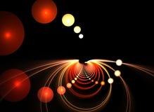 pirouette du vortex 3D illustration stock