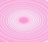 Pirouette rose illustration de vecteur