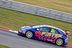 Pirtek Honda Civic BTCC Royalty-vrije Stock Foto's