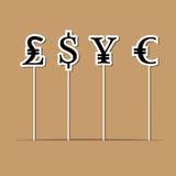 Piruleta del intercambio de dinero de la moneda libre illustration