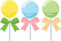 Piruleta, dulce, caramelo ilustración del vector