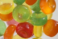 Piruletas coloreadas Foto de archivo libre de regalías