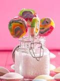 Piruletas coloridas Fotos de archivo